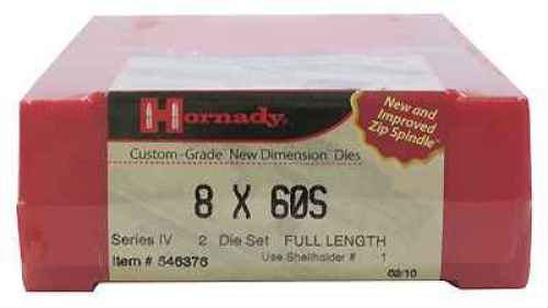 Hornady 546376 Series Iv Specialty Die Set, 8x60S (.323'') by Hornady
