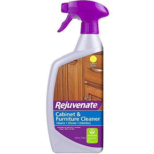 Rejuvenate Cabinet and Furniture pH Neutral Streak and Residue Free Cleaner Cleans Restores ()
