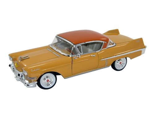 1957 Cadillac Series 62 Coupe De Ville Yellow 1/32 by Signature Models 32359 by Cadillac