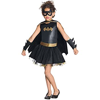 Rubieu0027s Justice League Childu0027s Batgirl Tutu Dress - Toddler  sc 1 st  Amazon.com : catwoman costume for children  - Germanpascual.Com