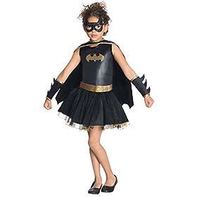 Rubie's Justice League Child's Batgirl Tutu Dress – Small