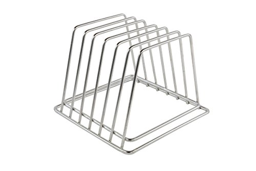 Commercial Cutting Board Rack - Stainless Steel, Compact - H