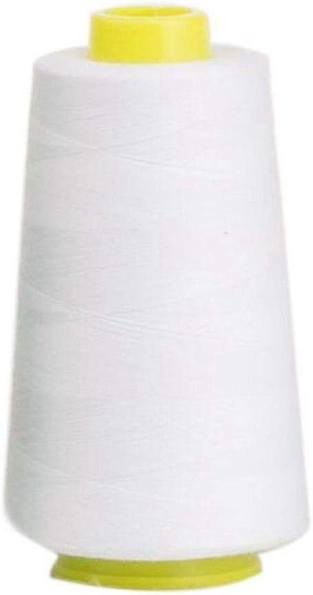 MZY1188 Bobina de Surtido de Hilo de Coser 13 Colores, Carrete 3000 Yardas Hilo de algodón Puro Carretes Coloridos multipropósito para máquina de Coser y Mano