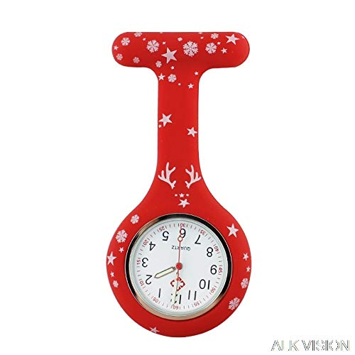 Pocket & Fob Watches - Nurse Watch Silicone Medical Watch fob Quartz Brooch Watch Nurse Doctor with Clip Dropshipping Merry by Tini - 1 PCs