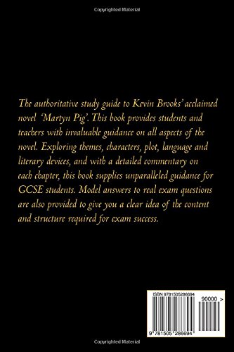 martyn pig by kevin brooks the student study guide amazon co uk rh amazon co uk California Pig Guides Guinea Pig Guide