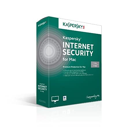 Kaspersky Internet Security for Mac 1 User, 1 Year [Online Code]