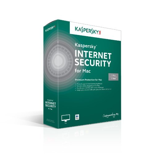 Kaspersky Internet Security for Mac 1 User, 1 Year [Online Code] by Kaspersky