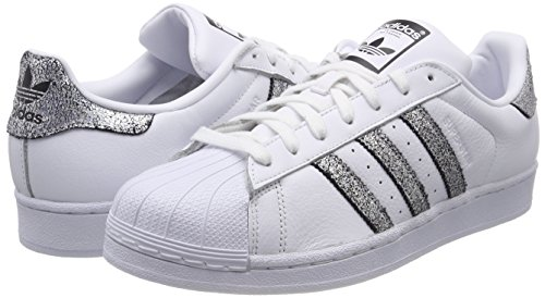 Blanc negbas 000 De ftwbla Fitness Superstar W supcol Chaussures Adidas Femme FTYPZw
