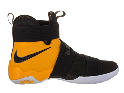 Nike Mænds Lebron Soldat 10 Sfg Basketball Sko Sort / Sort-universitet Guld lJ8mCIjb