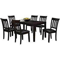 Milton Greens Stars Salamanca Dining Chair (Set of 2), Dark Brown