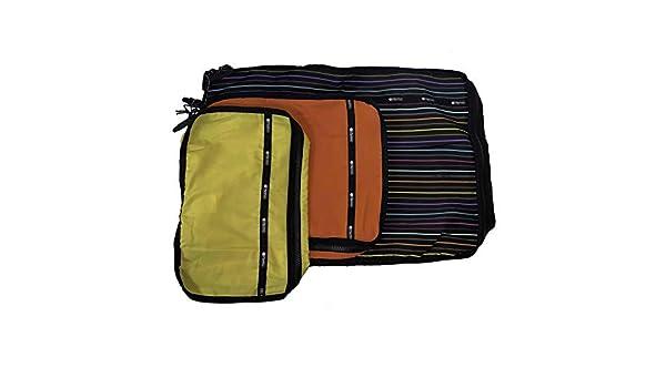 44197f5a5b77 Amazon.com: LeSportsac Lestripe Travel Packing Cubes (Lestripe Combo ...