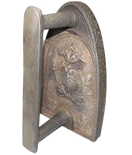Antique Cast Iron No. 5 Sad Iron with Embossed ()