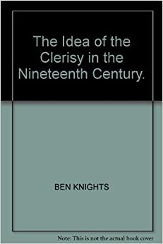 Book The Idea of the Clerisy in the Nineteenth Century