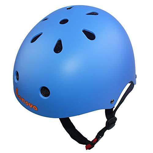 Lanova Toddler Kids Adjustable Bike Helmet,CPSC Certified Cycling Multi-Sport Safety Skating Scooter Helmet for 3 to 8 Years Old Girls/Boys