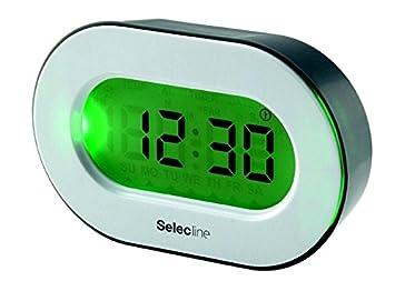 Selecline 848878 Digital Alarm Clock Blanco - Despertador (Digital Alarm Clock, Blanco, De plástico, 0-50 °C, F,°C, LCD): Amazon.es: Electrónica