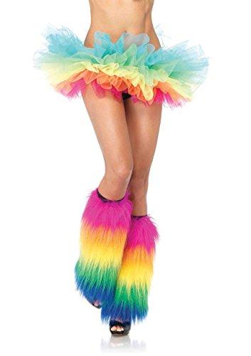 Rainbow Leg Warmers - 1