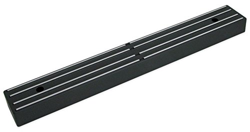 Master Magnetics Magnetic Tool Holder/Magnetic Knife Holder, 12-inch Double-Sided Magnet Strip, Mount on Metal Surface (Black) 07577