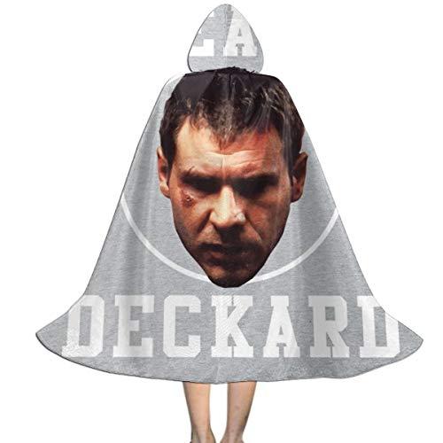 Deckard Blade Runner Costumes - Team Deckard Blade Runner Unisex Kids