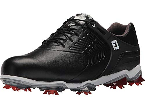FootJoy Men's Tour S Cleated TPU Saddle Strap All Over Black 12 WW US by FootJoy