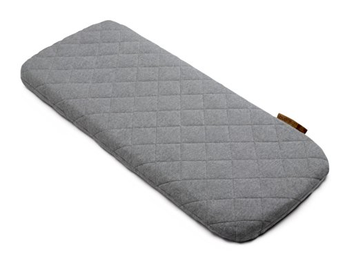 - Bugaboo Wool Mattress Cover, Grey Melange