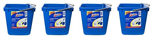 Quickie 20040-4 5 gallon Bucket & Cleaning Caddy (4-(Pack)) by Quickie
