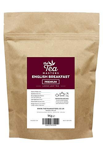 The Tea Masters Hojas Sueltas de Te Negro Premium para el Desayuno 1kg
