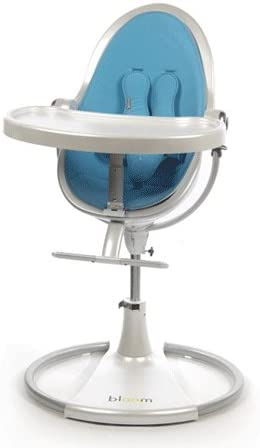 Bloom Chaise haute Fresco Classic Bleu: : Bébés
