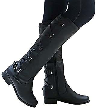 Amazon.com: Meilidress Women Boots Winter Tall Riding