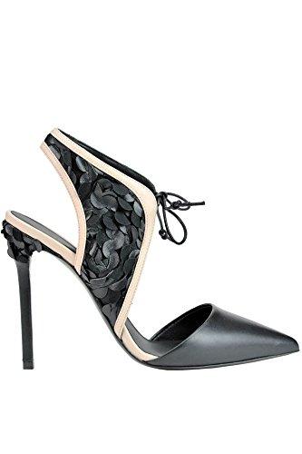Femme À Cuir GREYMER Chaussures Noir Talons MCGLCAT03029E 8wdXXqO