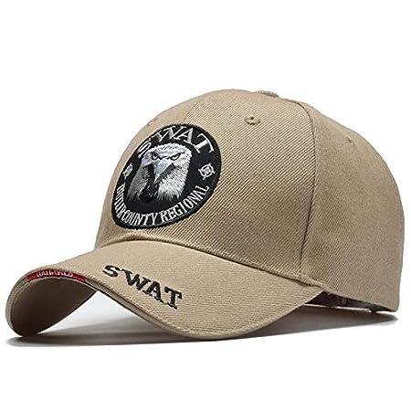 CZXHJT Kappe Hut Cap Herren Baseball Cap Army Caps Trucker Cap Knochen 56-60Cm Kann Ohne Spannung Oder Beschwerden Eingestellt Werden