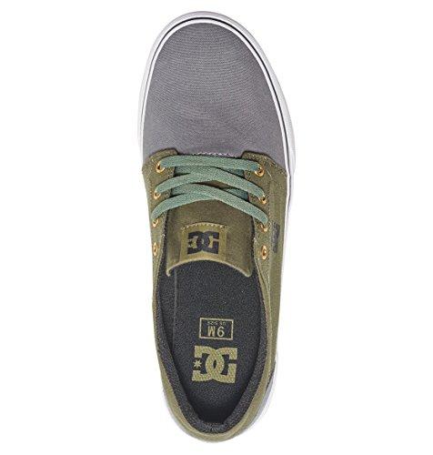 Hombre Zapatillas Black para Shoes TX Grey Trase Green DC fZnXCqxwvT