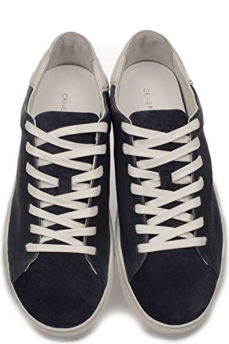 London blu 11100pp140 di Crime uomo pelle da in Sneakers RPwtxE8q