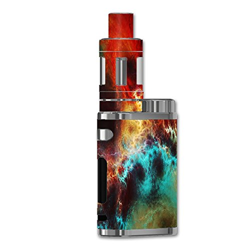 Skin Decal Vinyl Wrap for eLeaf iStick Pico 75W Vape stickers skins cover / Fire and Ice Mix