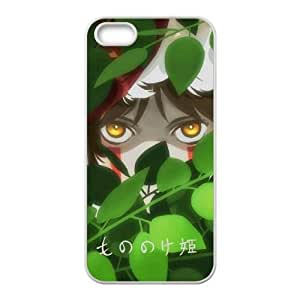 Special Design Cases iPhone 5, 5S Cell Phone Case White Princess Mononoke Xdmbl Durable Rubber Cover