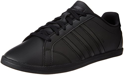 adidas Damen Coneo QT Vs Sneakers Schwarz (Core Black/Core Black/Core Black)