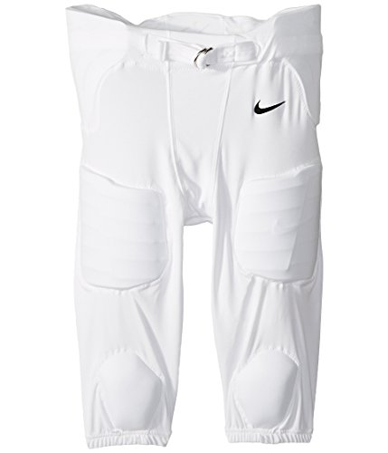 Nike Youth Recruit Integrated 3.0 Football Pants,(White,Large)