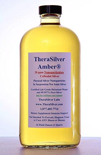 TheraSilver Amber Nanoparticulate Colloidal Silver
