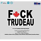 "4"" x 6"" F Trudeau Laminated Vinyl Decal"
