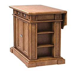 Farmhouse Kitchen ghy Extendable Kitchen Island Hardwood Distressed Oak Counter Dinner Table Bar Buffet Cabinet Drawers Racks Storage… farmhouse kitchen islands and carts