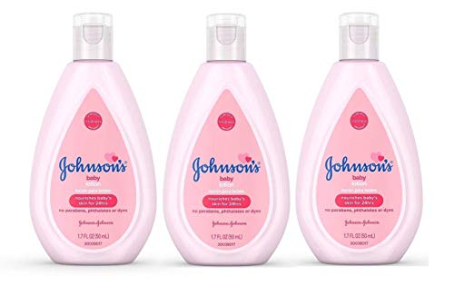 Travel Baby Lotion - Johnson's Baby Lotion Travel Size 1.7 oz (50ml) - Pack of 3