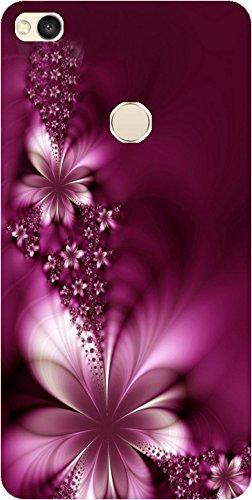 BuyFeb Designer Printed Back Cover for Xiaomi Redmi 4  purple