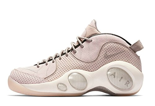 NIKE Men's NikeLab Air Zoom Flight 95 Basketball Shoes 941943 600 Pearl Pink Size 11