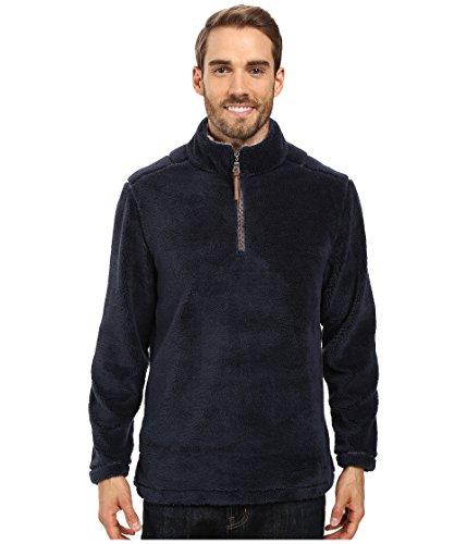 True Grit Men's Pebble Pile 1/4 Zip Pullover, Vintage Denim, X-Large ()
