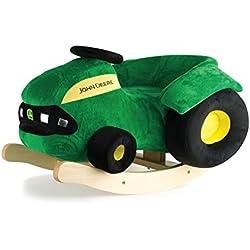 TOMY Ertl John Deere Plush Rocking Tractor