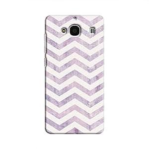 Cover It Up - Purple Bubblegum Print Redmi 2 Prime Hard Case