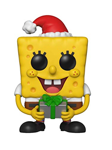 Funko Pop Animation: Spongebob Squarepants - Holiday Spongebob Collectible Figure, Multicolor]()