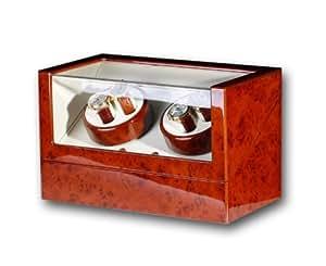 R.U.Braun 1001966 Kubus - Estuche con movimiento para relojes 4 relojes automáticos
