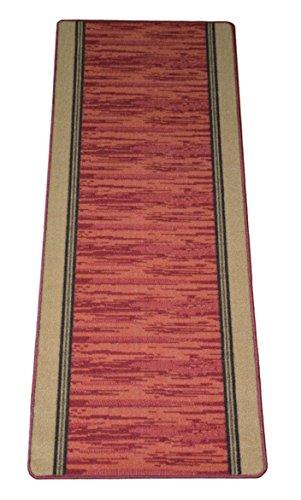 Washable Non-Skid Carpet Rug Runner - Boxer Terra Cotta (5')