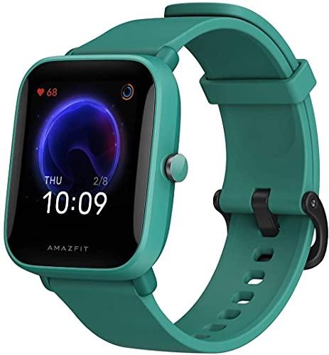 Amazfit Bip U – 1,43″ LCD Scherm – 9 Dagen Batterij – 60+ Sport Modes – Green