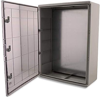 Boxexpert - Caja de plástico ABS para armario de distribución IP65 ...